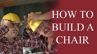 How to build a chair - The Juan And Jesús Show by David Lopez