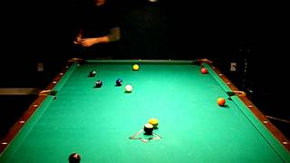 getlinkyoutube.com-Amazing 10 ball  break !  Increase your chances of running out now .