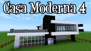 getlinkyoutube.com-Tutoriais Minecraft: Como Construir a Casa Moderna 4