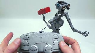 """getlinkyoutube.com-Unboxing my RC controlled """"Johnny 5"""" robot from Short Circuit"""
