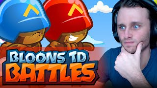 getlinkyoutube.com-Bloons TD Battles | MAGE AND WOODCHIPPER!!