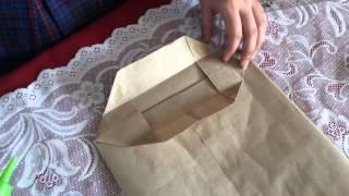 getlinkyoutube.com-El Rincón del Artesano — Bolsa de Papel Kraft