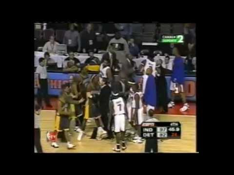 NBA Metta World Peace (Ron Artest) FIGHT -NBA BAD BOY- PART.4