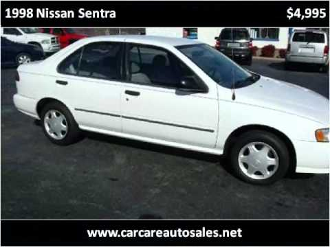 1998 Nissan Sentra Problems Online Manuals And Repair