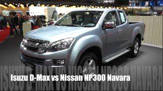 getlinkyoutube.com-Isuzu D-Max 2016 vs Nissan NP300 Navara 2016