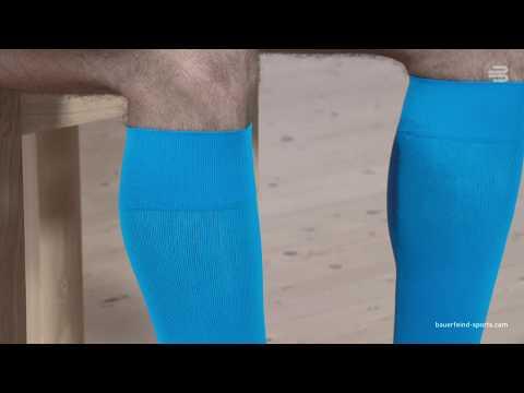 Bauerfeind Sports Compression Socks Run & Walk - So werden unsere Laufsocken schonend ausgezogen
