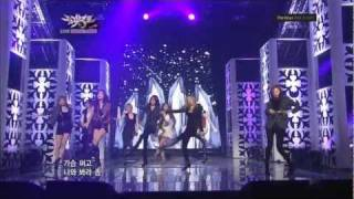 SNSD - MR TAXI + The Boys (comeback stage) 1080p 111021