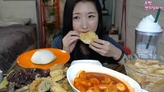 getlinkyoutube.com-피트니스요정) 죠스떡볶이 세트메뉴 먹방 eatingshow 151013