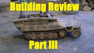 Building review: Dragon Sd.Kfz.  251/7 Ausf.  D in 1/35 scale Part III