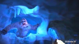 getlinkyoutube.com-(HD POV) Matterhorn with NEW Scary Realistic Yeti - Fantasyland (Right Side) - Disneyland 2015