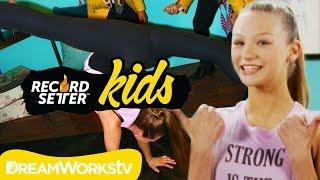getlinkyoutube.com-Autumn Miller's Extreme Back Walkover Challenge | RECORDSETTER KIDS