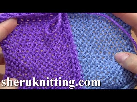 Three Needle Bind Off Seam Up Knitted Peaces Tutorial 7 Method 6 of 12 Knit Different Bind-offs