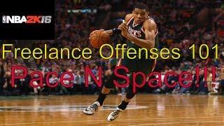 getlinkyoutube.com-NBA 2k16 Freelance Offenses: Pace