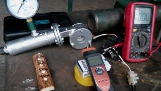getlinkyoutube.com-Micro Tesla Turbine Generator. Present, process of manufacture, first run...