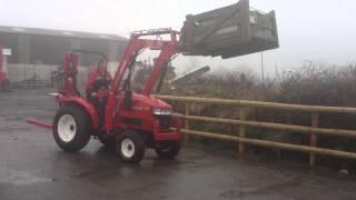 Siromer moving pallet of breeze blocks