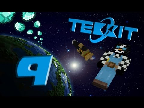 Tekkit - A Galactic Adventure [NL] Ep.9 (NASA Workbench!)