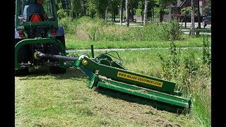 MAJOR Off-Set Roller Mower