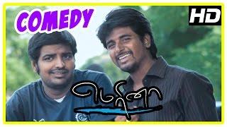 Marina Tamil Movie | Back to Back Comedy Scenes | Sivakarthikeyan | Sathish | Oviya | Pakoda Pandi