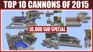 getlinkyoutube.com-Minecraft: Top 10 TNT Cannon of 2015! [10,000 Subscriber Special!]