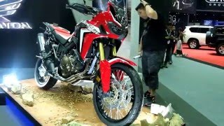 getlinkyoutube.com-2016 NEW HONDA AFRICA TWIN WALKAROUND