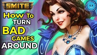 SMITE: How To Turn Bad Games Around! Chang'e Gameplay and Build (Season 4)
