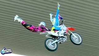 getlinkyoutube.com-MUST WATCH: World First Brother & Sister Tandem FMX