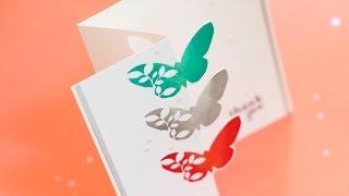 getlinkyoutube.com-Partial Die Cutting & Zig Zag Fold Card