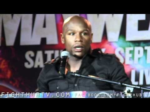 Floyd Mayweather vs. Victor Ortiz: Los Angeles Press Conference Highlights