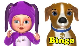 getlinkyoutube.com-Bingo Dog Song - Animals Rhymes &  Songs for Kids - Learn Animal Videos for Children