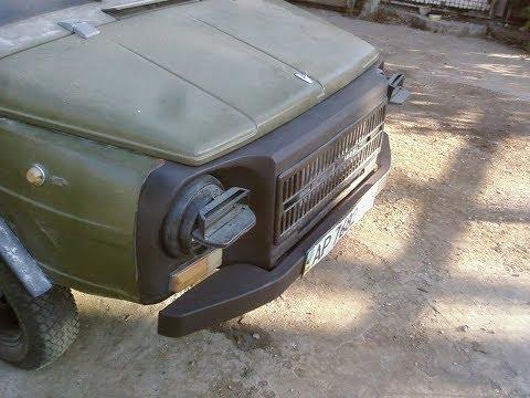 Где находится педаль тормоза в ЛуАЗ ЛуАЗ