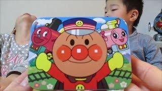 getlinkyoutube.com-アンパンマン たのしいのりもの缶【不二家】/ANPANMAN. Fun vehicles can【Fujiya】