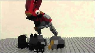 getlinkyoutube.com-Lego Mixels Nixel Hole Stopmotion!