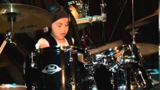 """getlinkyoutube.com-Compacto """"Girls on Drums 6 Floripa""""  participação especial Eduarda Henklein (5 Anos)"""