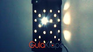 getlinkyoutube.com-DIY: How to make a simple night lamp (Cara Membuat Lampu Tidur Sederhana)
