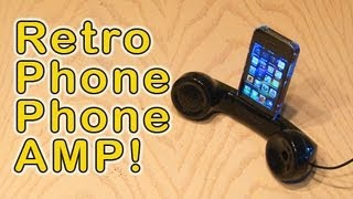 getlinkyoutube.com-Retro Phone Phone Amp!