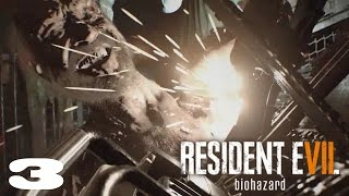 getlinkyoutube.com-BOSS FIGHT 2: CHAINSAW DUEL | Resident Evil 7: Biohazard | 03