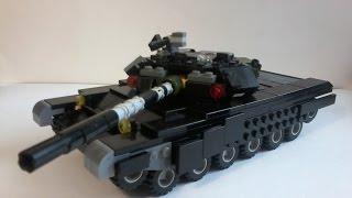 getlinkyoutube.com-Т-90 из lego. Tutorial