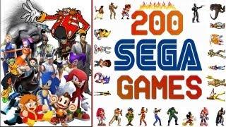 getlinkyoutube.com-Sega Tribute 200 Games HD