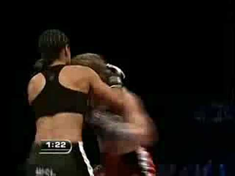 Munah Holland vs. Jennifer Santiago Fight 2