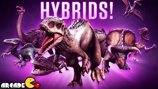 getlinkyoutube.com-Jurassic World The Game - New Hybrids Dinosaurs In Store Legendary Tyrannosaurus Rex Unlocked!