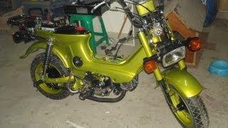 getlinkyoutube.com-Honda Chaly CF50