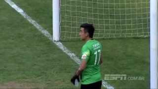 getlinkyoutube.com-Goleiro chinês leva gol enquanto bebia água