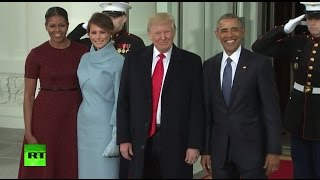 getlinkyoutube.com-Inauguration 2017 LIVE: Trump sworn into office, clashes break out in Washington DC