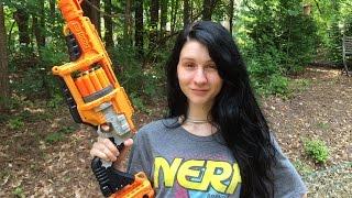 getlinkyoutube.com-Honest Review: The Nerf LawBringer (Doomlands 2169 Unboxing)