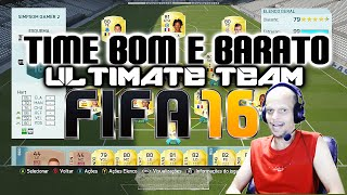 FIFA 16, Ultimate Team, TIME BOM E BARATO, Barclays, Liga Inglesa #03