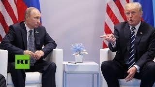 Explotan las redes con las reacciones al encuentro entre Putin y Trump