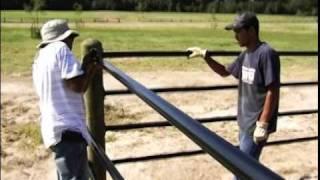 getlinkyoutube.com-Ponderosa Fence Install