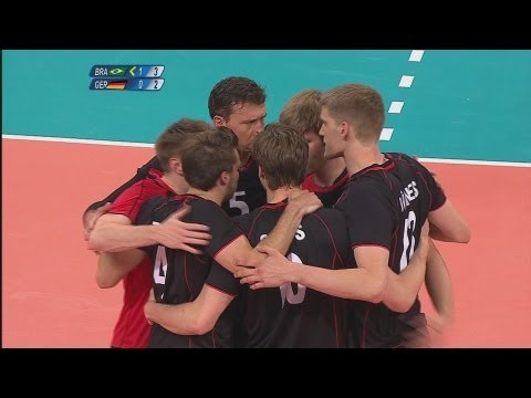Volleyball Men's Preliminary - Pool B - Brazil v Germany Full Replay - London 2012 Olympic Games