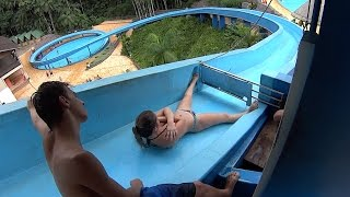getlinkyoutube.com-The Karacol Water Slide at Cascanéia