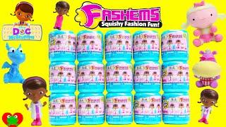 getlinkyoutube.com-Doc McStuffins Fashems Capsules Lambie Stuffy Hallie